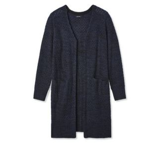 New Long Open Front Knit Cardigan Sweater 4X